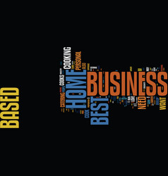 best home based business ideas where to find them vector image