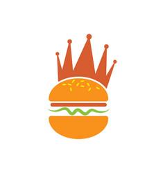 Burger icon design vector