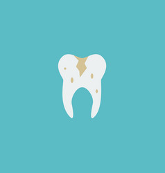 Flat icon caries element of vector