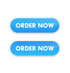 order now button for web design vector image