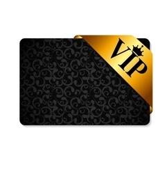 VIP Ribon on Card vector