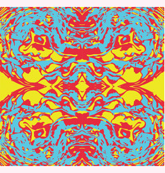 Abstract seamless pattern psychedelic vector