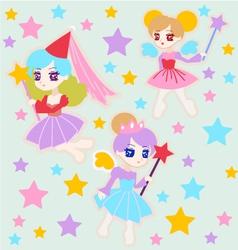 Cute Fairy Princess vector image vector image