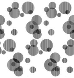 fabric circles abstract seamless vector image