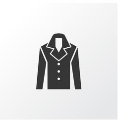 coat icon symbol premium quality isolated vector image