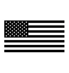 flag united states america pictograph vector image