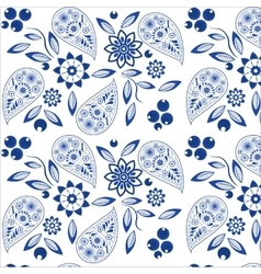 Ornate Paisley Pattern vector image