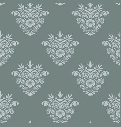 royal seamless background baroque vector image vector image