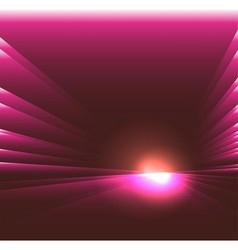 See burst light on purple background vector