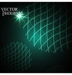 Global Digital mesh network eps10 vector image