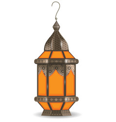ramadan kareem realistic 3d lantern isolated on vector image vector image