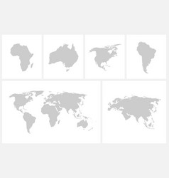world map - green design vector image