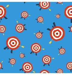Seamless pattern with target vector image