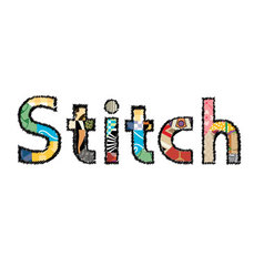 Stitch vector image vector image