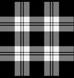 christmas new year tartan pattern scottish cage vector image