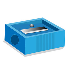 isolated of pencil sharpener vector image