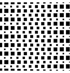 Pattern background with monochrome squares art vector