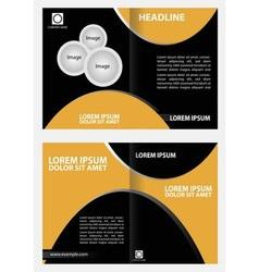 Professional business catalog template or corporat vector