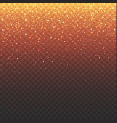 stock spark fire gold vector image