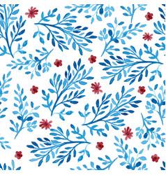 watercolor pattern vector image