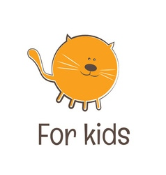 Kids funny toy symbol vector image vector image