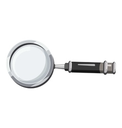 Magnifier translator icon cartoon style vector image vector image