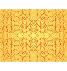 Orange abstract seamless pattern vector image vector image