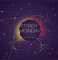 Cyber bright background vector