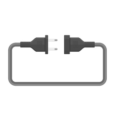 Electric plug vector