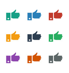 Like icon white background vector