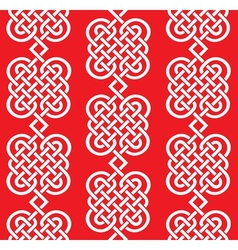 seamless weaving of line pattern vector image