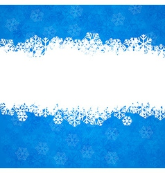 Christmas background with copyspace vector image