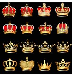 Royal Crowns vector image