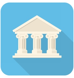 Bank icon vector image