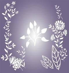 Flower Floral background vector image vector image
