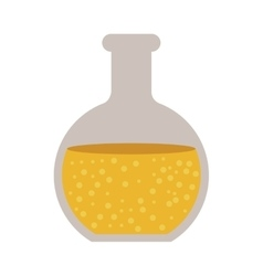 Chemistry flask bottle vector