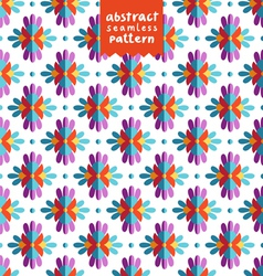 Colorful ethnic abstract pattern vector image