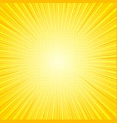 Comic bright sunny background vector