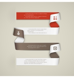 Creative infographics template vector image