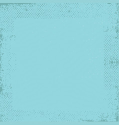 cyan grunge vintage old paper background vector image
