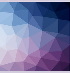 light blue business low poly crystal background vector image
