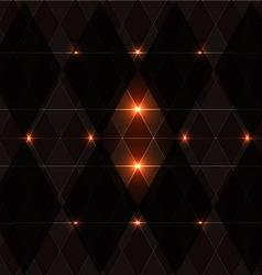 Orange wink vintage pattern background vector