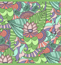 seamless pattern bright fashionable vector image