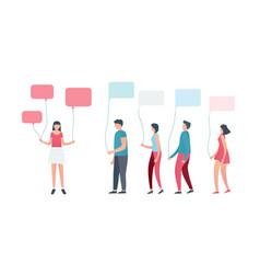 Social media or social network vector