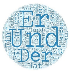 Stubenfrei ja aber wie text background wordcloud vector