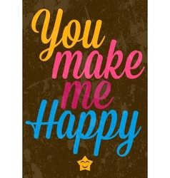 Valentines Day text typography vector