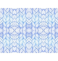 Blue abstract seamless pattern vector image