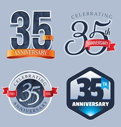 35 Years Anniversary Logo vector
