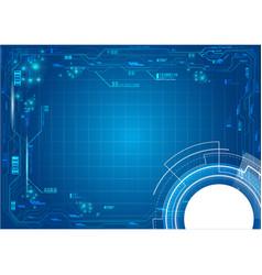 background server technology vector image