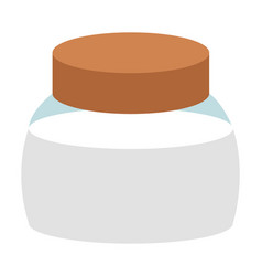 Container with sugar or salt spice storage box vector